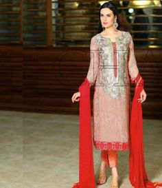 Charizma Luxury Chiffon Festive Collection Design-21