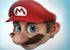realistic renderings of animated characters