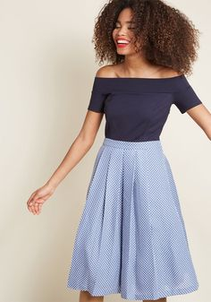 fac768f0a35 Double the Lovely A-Line Dress in XL - Cap Twofer Knee Length by ModCloth