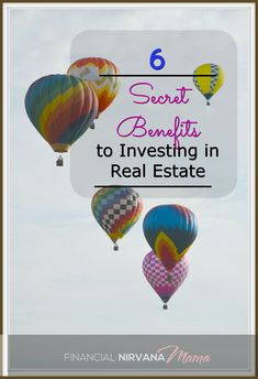 Building up a real estate portfolio can test your will, but when you stick with it, the benefits are worthwhile.  Here are 6 secret benefits to investing in real estate!