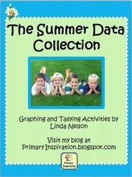 Heres a set of 7 data collection and recording activities that will keep your summer-minded students learning right up to the very last day of school!