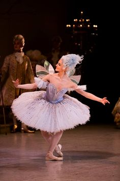 Valerie Tereshchenko as one of the fairies in the prologue of David McAllister's The Sleeping Beauty for the Australian Ballet. Photography Lynette Wills