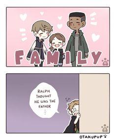 I feel bad for Ralph, I kinda ship him with Kara too