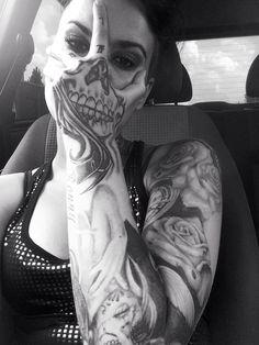 Tattoo Lust: Tattooed Dames XVII    Fonda LaShay // Design → more on fondalashay.com/blog