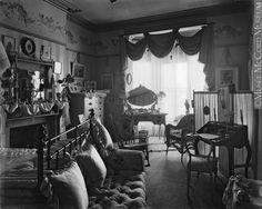Montreal Victorian Photos | Titre : La chambre ? coucher de Mme David Morrice…