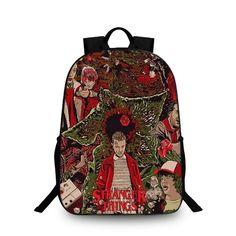 069a65c7721f Stranger Things Backpack Schoolbag Kids Back to School Bags Shoulder Daypack  6
