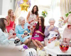 Kate Middletons baby shower - People - Stylist Magazine