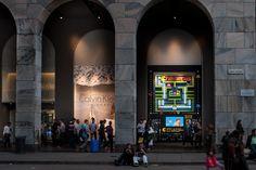 Havaianas - Pac Man Windows at La Rinascente, Milan – Italy #varejo #retail #havaianas #store #loja #milão #milan #italy #itália #vm #visualmerchandising #shopwindow #windowsdisplay #vitrine #pacman #windows