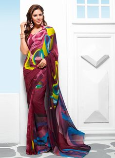 http://www.sareesaga.com/index.php?route=product/product&product_id=20539 Style	:	Casual	 Shipping Time	:	10 to 12 Days Occasion	:	Party Casual	 Fabric	:	Georgette Colour	:	Multi Colour	 Work	:	Print For Inquiry Or Any Query Related To Product,  Contact :- +91 9825192886