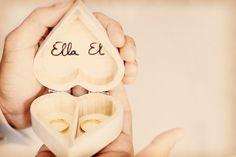 Dieciséis ideas para la caja de los anillos de casados