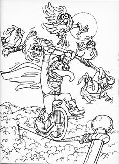 muppets movie coloring pages - Google Search