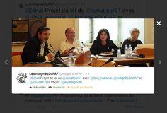 Les Indignés du PAF / Les Citoyens de l'info / Sénat / Myrtille Dupont