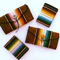 The Serape Leather Wallet:  www.daughterofthesun.etsy.com
