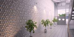 Panel ścienny hexago 3d LEVEN design for you