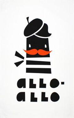 A design by Darling Clementine Well bonjour mon petit-pois! Mangeriez-vous une baguette avec moi cette soirée? This beautiful, moustache-wielding French gentlem
