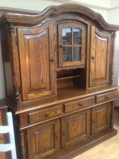 The dresser before