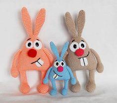 Mesmerizing Crochet an Amigurumi Rabbit Ideas. Lovely Crochet an Amigurumi Rabbit Ideas. Crochet Easter, Bunny Crochet, Crochet Animal Amigurumi, Amigurumi Doll, Crochet Animals, Cute Crochet, Crochet Patterns Amigurumi, Crochet Dolls, Knitting Patterns