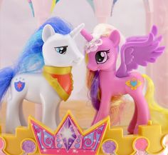G4 Pony Blog: Shining Armor & Princess Cadence