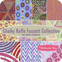 Chalky Kaffe Fassett Collective Fat Quarter Bundle Westminster Fibers Fabrics