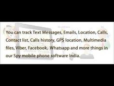 Spy Phone India , spy phone software India.