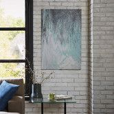 Found it at Joss & Main - Abstracted Chervon Canvas Print
