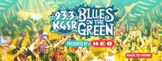Welcome to KGSR's 25th Annual Blues on the Green! We're back at Zilker Park for 4 shows this year: May 27th, June 24th, July 22nd & August 5th. Blues on the Green is Austin's largest FREE concert series, and an Austin tradition... so grab your family and friends, some blankets or lawn chairs and join us!