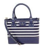 Kate Spade New York Wellesley Striped Small Quinn Top Handle, French Navy/ Cream *** For more information, visit image link.