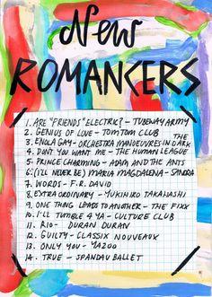 new romancers playlist via rookie mag                                                                                                                                                                                 More