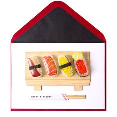 Sushi Birthday Price $8.95