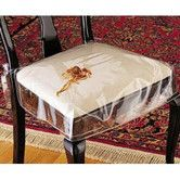 Clear Vinyl Chair Protectors Set Of 2 Fits Chairs Up To 21 X Actual Size 26 25
