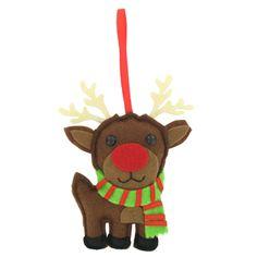 felt reindeer xmas elves decoration