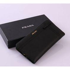 Authentic prada saffiano leather business card holder onnline sale prada wallet in saffiano leather black 1m1265 colourmoves