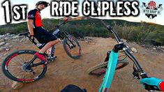 My First Ride On Clipless Mountain Bike Pedals Review | Clipless Vs. Fla...