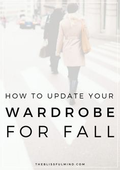 Need to update your wardrobe for fall but don't want to go shopping? Refresh your look with these 5 easy steps! Click through to find decluttering tips and fall outfit ideas! Capsule Wardrobe Examples, Capsule Wardrobe Mom, Wardrobe Basics, Fall Wardrobe, Wardrobe Ideas, Wardrobe Organisation, Organization, Fall Winter Outfits, Autumn Winter Fashion