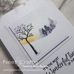 Xmas Cards Handmade, Stamped Christmas Cards, Christmas Art, Handmade Christmas, Holiday Cards, Christmas Ideas, Cardio Cards, Christmas Challenge, Card Io