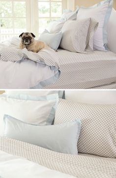 *Great site for sheets!* Sleep on a cloud with these super soft 300 thread count grey patterned sheet sets from Crane & Canopy. You will love them!