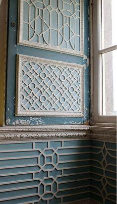 Molduras en paredes #decor  #molduras   #mouldings #wall #ceiling #trims