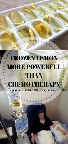 It turns out that the best way to consume lemons is to first freeze them