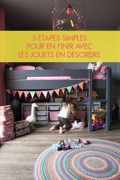 Le guide ultime pour ranger les jouets dans une chambre d'enfant (ou ailleurs) !