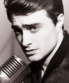 Daniel Radcliffe.  Who knew Harry Potter would end up with a jawline like that??