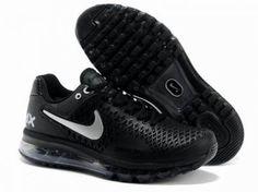 newest collection ed2a7 bdb16 Calzado Nike, Calzas, Cuero Negro, Zapatillas, Nike Air Max Para Caballero,