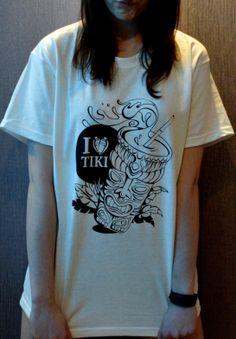 "Koszulka ""I love TIKI mug"" Rozmiary M, L"