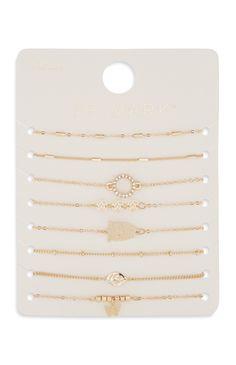 8PK Gold Bracelet