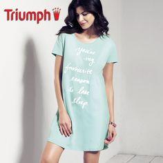 Triumph Nightdresses SS15 NDK01-Βαμβακερό Νυχτικό d83e866460d
