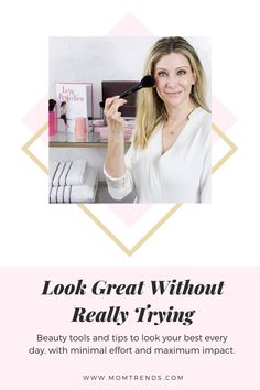 Beauty tips for working women and time-crunched moms. Get the tools to look your best every day, with minimal effort and maximum impact. Mac Matte Lipstick, Mac Lipsticks, Eyeshadow Palette, Lip Gloss, Makeup Artist Tips, Top Makeup Artists, Fly Away Hair, Too Much Makeup