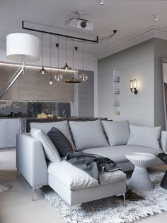 Лофт с элементами ар-деко в ЖК «Фили Град» – Красивые квартиры