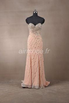 fournitures de airmode.frcharmant la gaine / promo / soirée longue colonne chérie ma robe Robe Longue de Soirée