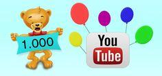 1000 visualizzazioni su youtube!