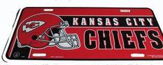 Kansas City Chiefs license plate