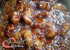 Sweet Pork with Mountain Dew Mountain Dew, Chicken Wings, Fries, French Toast, Pork, Meat, Breakfast, Recipes, Kale Stir Fry